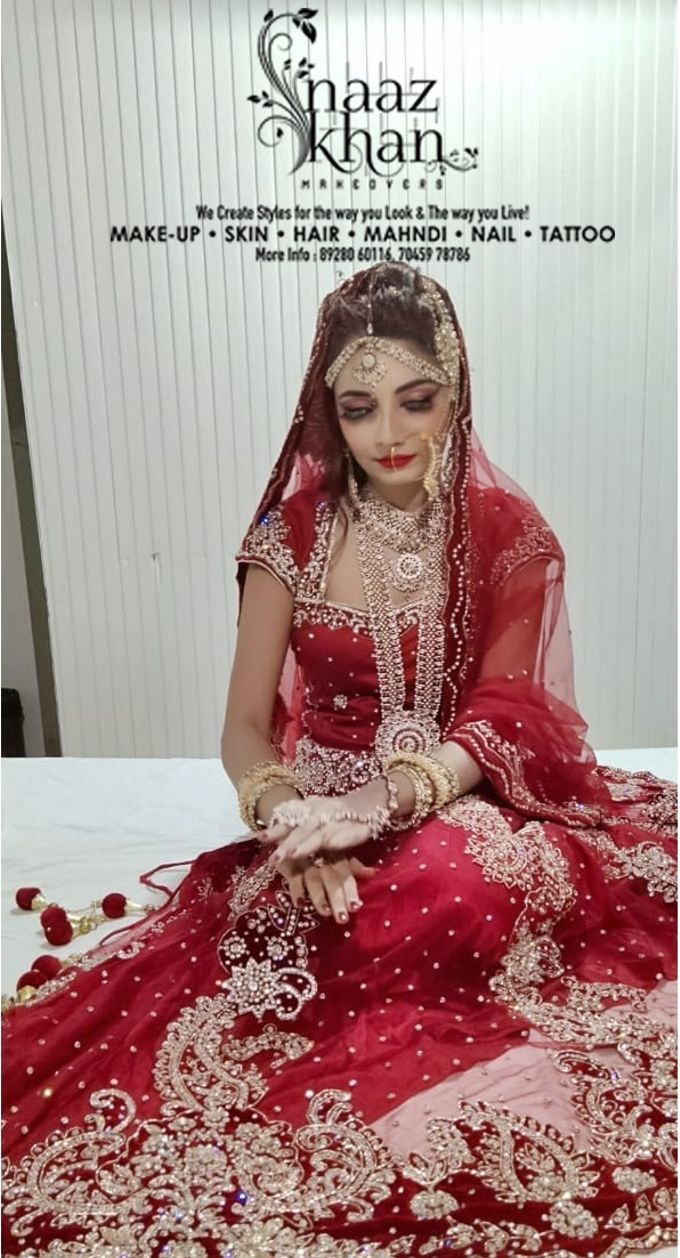 bridal makeover by Naazkhanmakeovers - 007