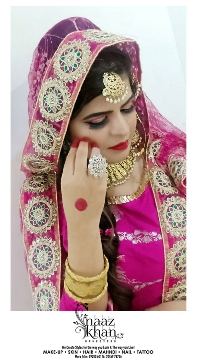 bridal makeover by Naazkhanmakeovers - 003