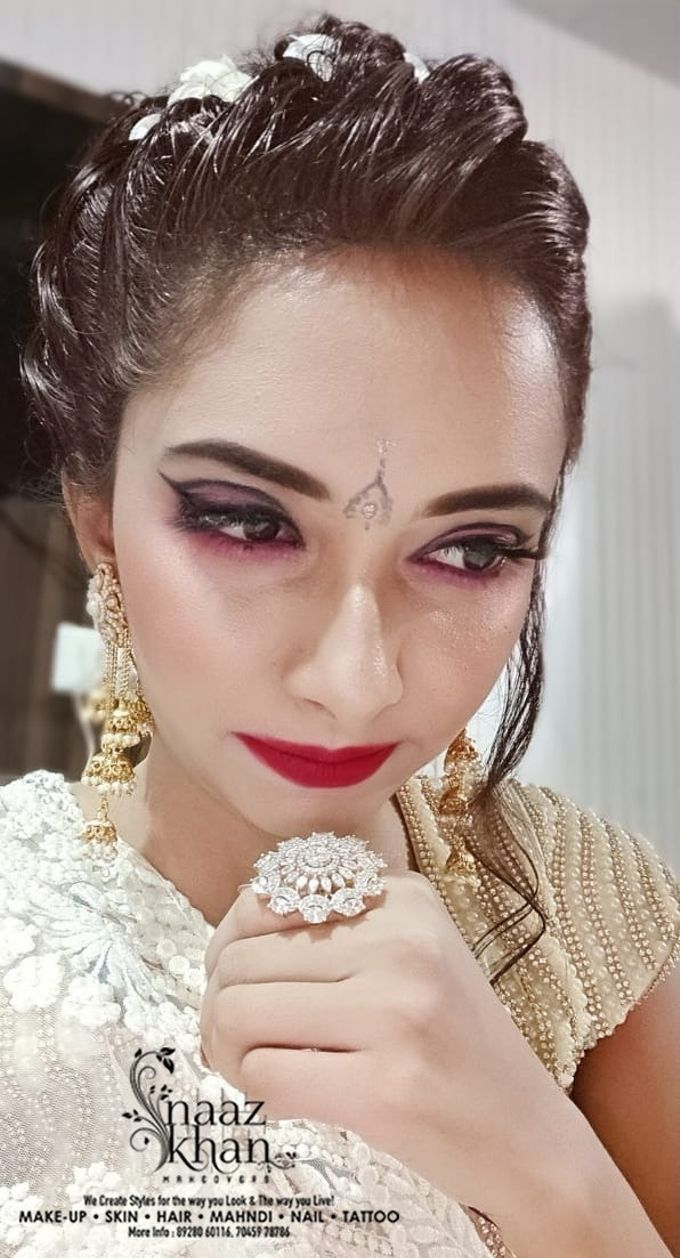 bridal makeover by Naazkhanmakeovers - 004