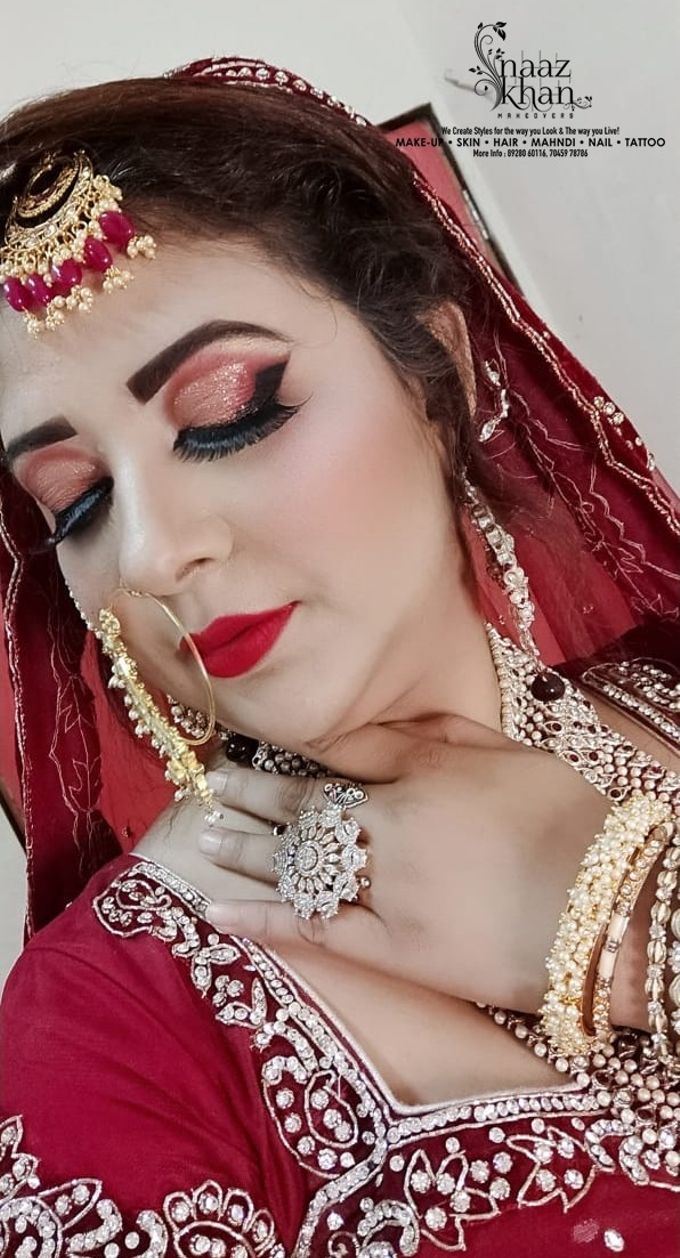 bridal makeover by Naazkhanmakeovers - 006