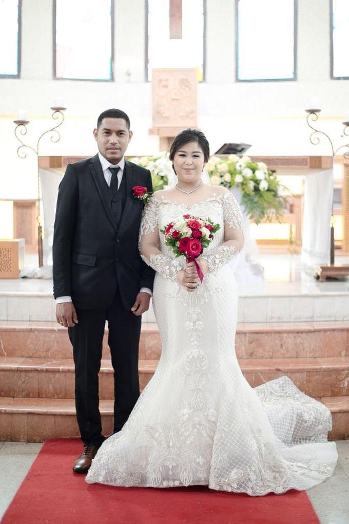 Happy wedding to fany & Ivan by D BRIDE - 001