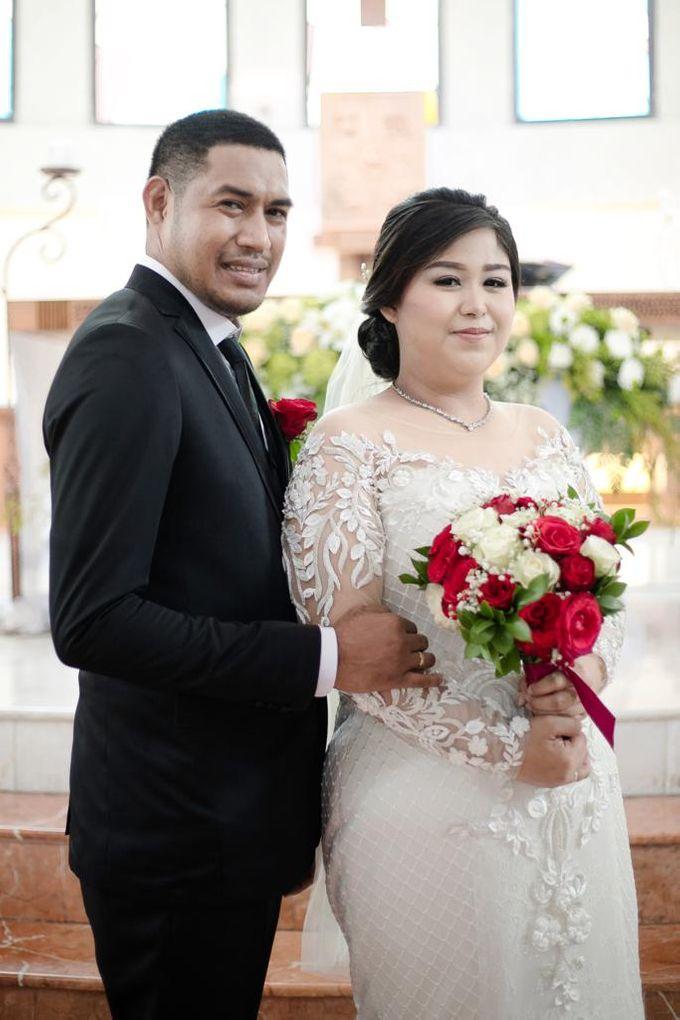 Happy wedding to fany & Ivan by D BRIDE - 006