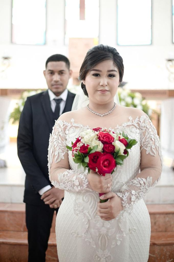 Happy wedding to fany & Ivan by D BRIDE - 002