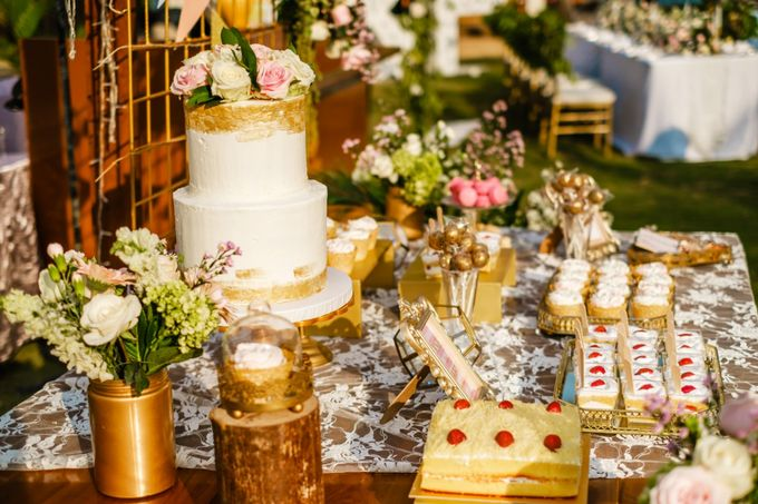 Wedding Cake & Sweet Corner by Moia Cake - 016