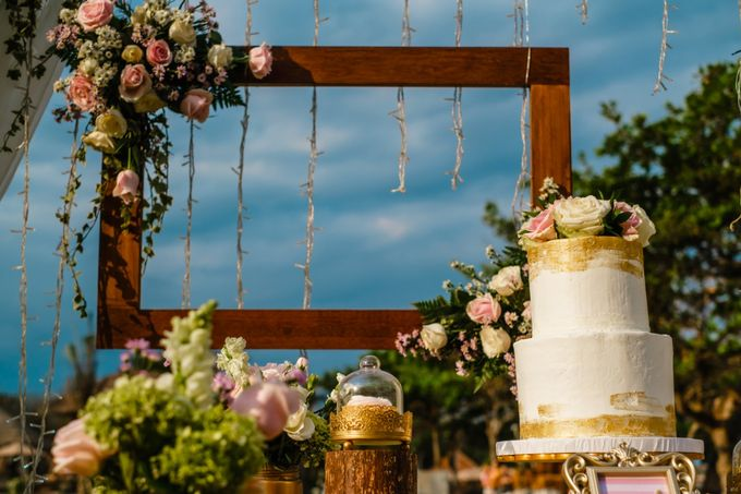 Wedding Cake & Sweet Corner by Moia Cake - 013