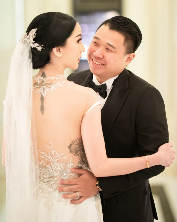 Wedding Billy & Jill Gladys 28 September 2019 by Priceless Wedding Planner & Organizer - 011