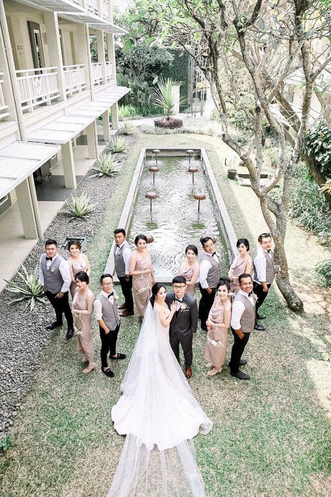 The Wedding Nicholas Bony & Maria Stella by Sheraton Bandung Hotel & Towers - 015