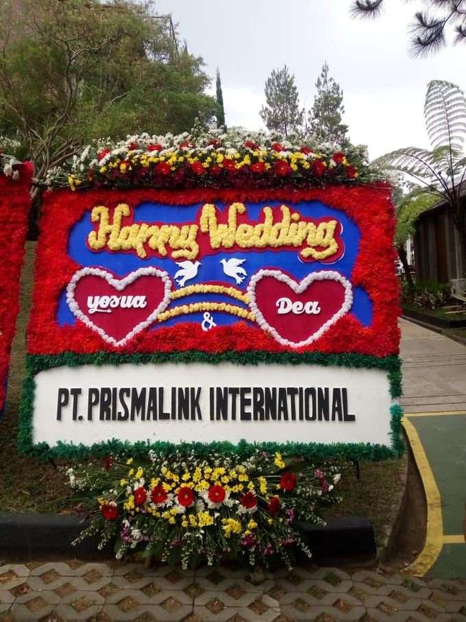 Bunga Papan Wedding by Bougenville Decoration - 004