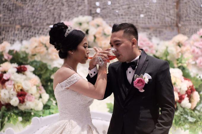 Wedding Of Martinus & Monica Intan by Elina Wang Bridal - 007