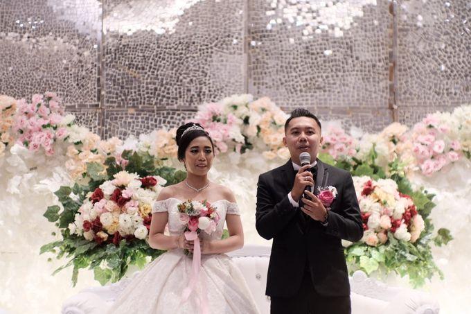 Wedding Of Martinus & Monica Intan by Elina Wang Bridal - 009