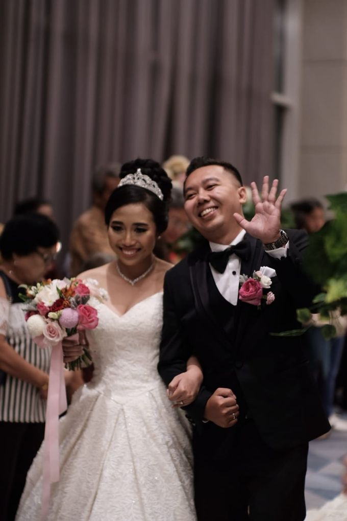 Wedding Of Martinus & Monica Intan by Elina Wang Bridal - 018