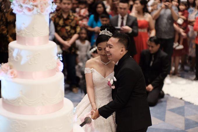 Wedding Of Martinus & Monica Intan by Elina Wang Bridal - 011