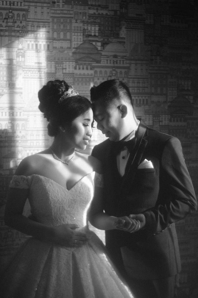 Wedding Of Martinus & Monica Intan by Elina Wang Bridal - 013