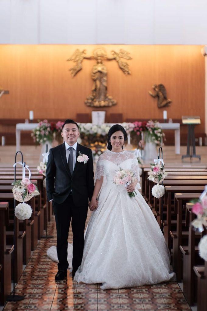 Wedding Of Martinus & Monica Intan by Elina Wang Bridal - 020