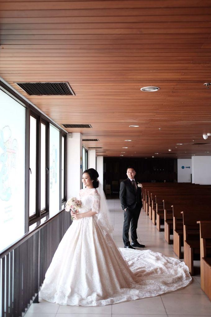 Wedding Of Martinus & Monica Intan by Elina Wang Bridal - 021