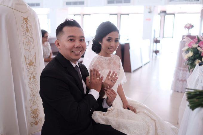 Wedding Of Martinus & Monica Intan by Elina Wang Bridal - 012
