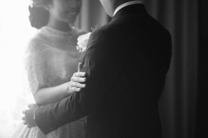 Wedding Of Martinus & Monica Intan by Elina Wang Bridal - 019