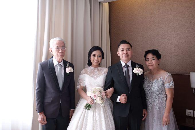 Wedding Of Martinus & Monica Intan by Elina Wang Bridal - 006