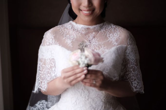 Wedding Of Martinus & Monica Intan by Elina Wang Bridal - 002