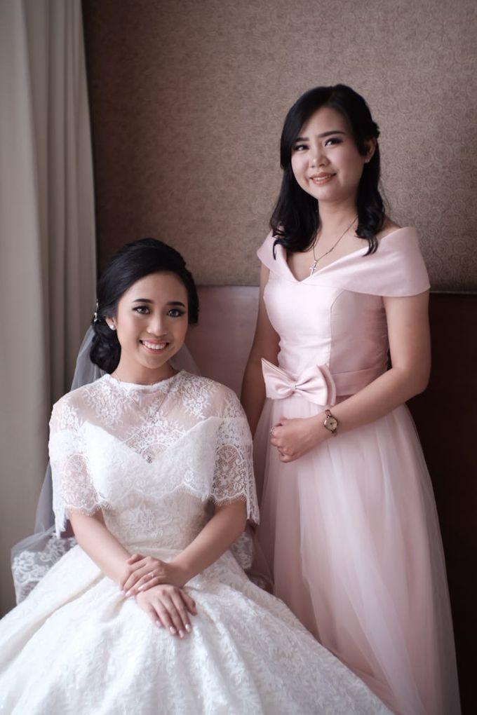 Wedding Of Martinus & Monica Intan by Elina Wang Bridal - 005