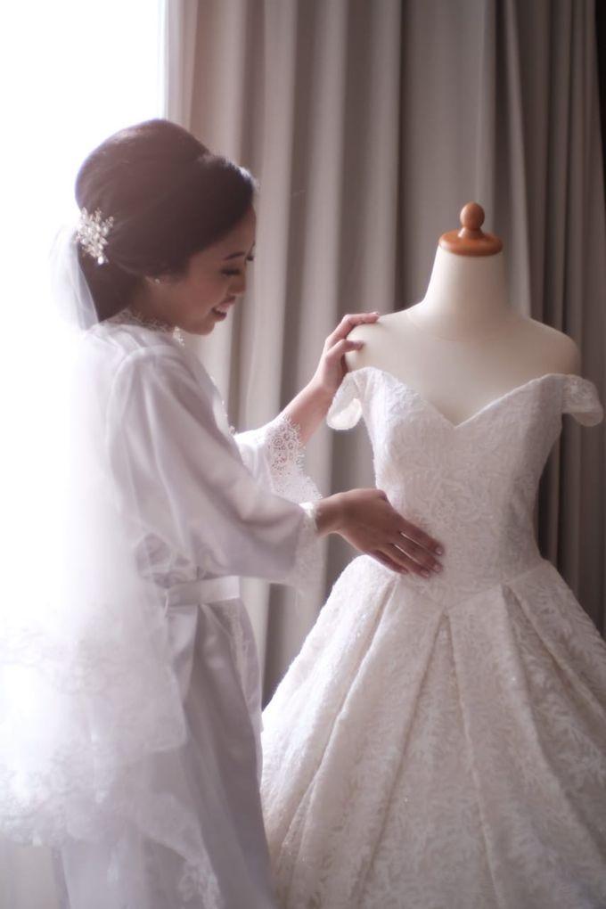 Wedding Of Martinus & Monica Intan by Elina Wang Bridal - 004