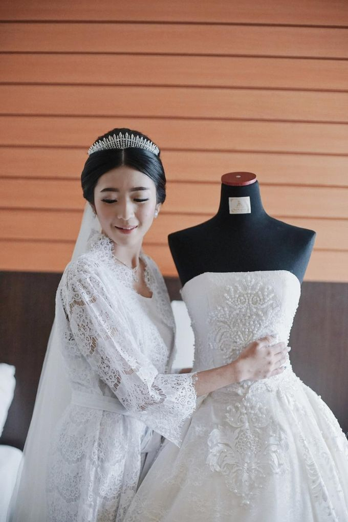 Wedding Of Ivan & Fani by Elina Wang Bridal - 008