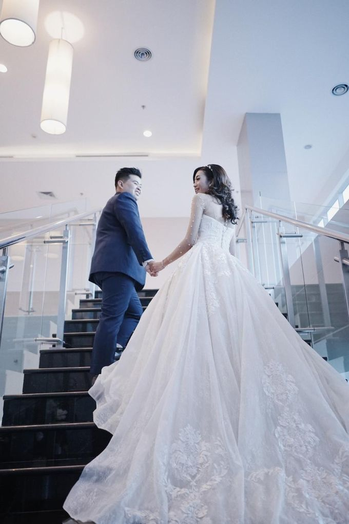 Wedding Of Ivan & Fani by Elina Wang Bridal - 009