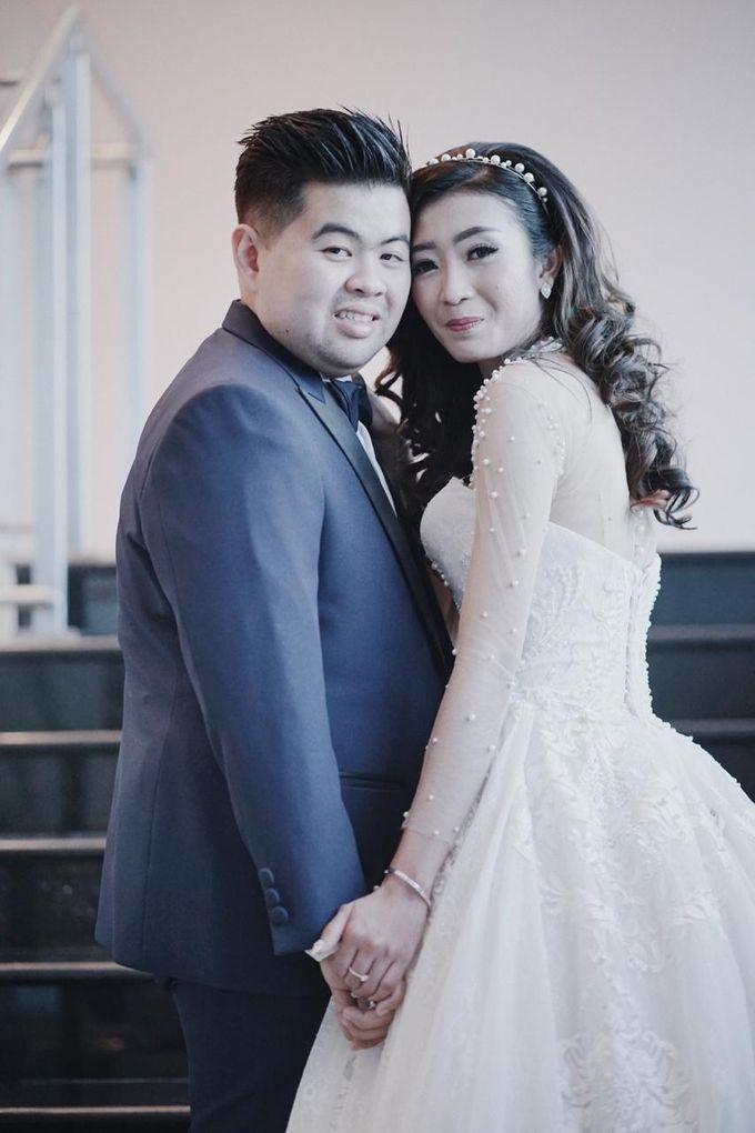 Wedding Of Ivan & Fani by Elina Wang Bridal - 006