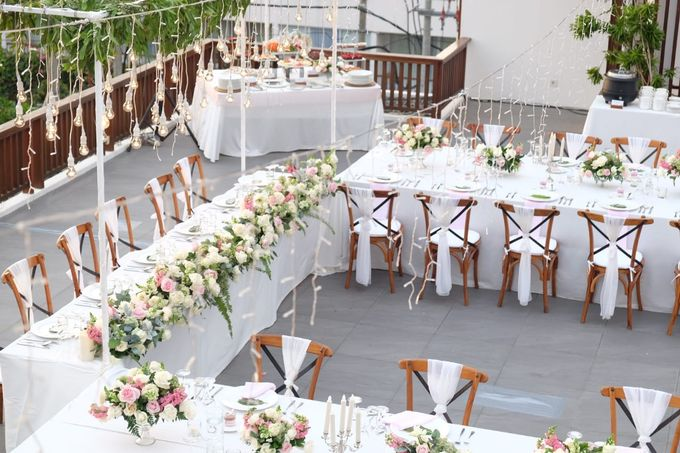 Rooftop Chapel And Dinner by CITTA Wedding - 005