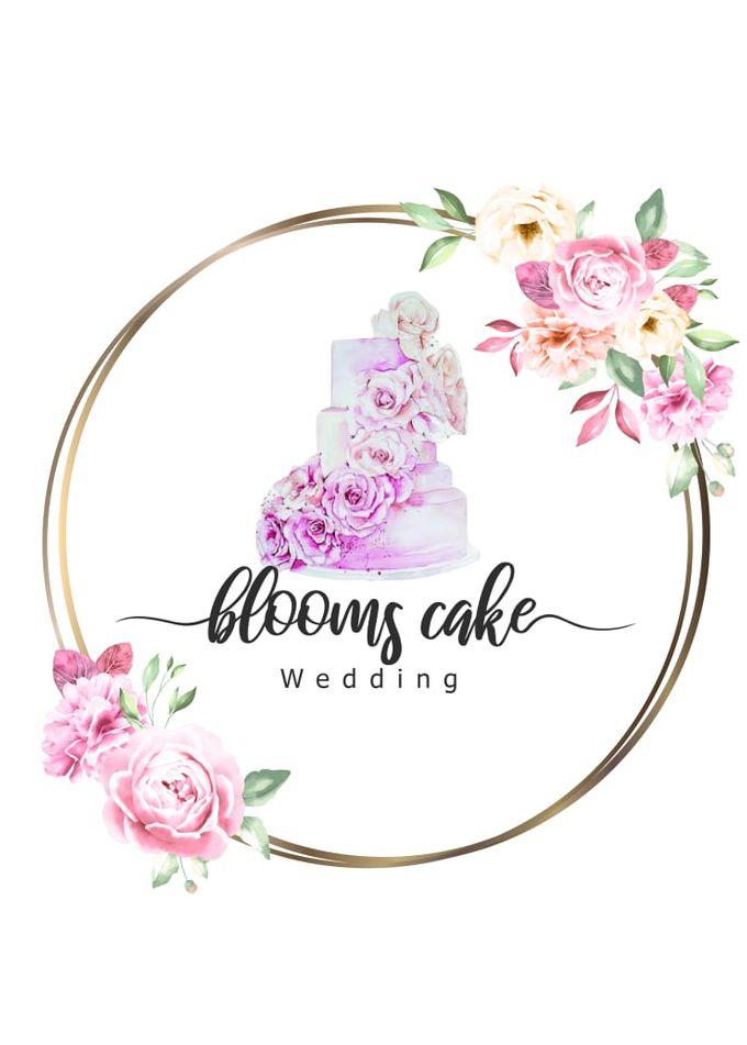 Custom Wedding Cake by Bloomscake Wedding - 023