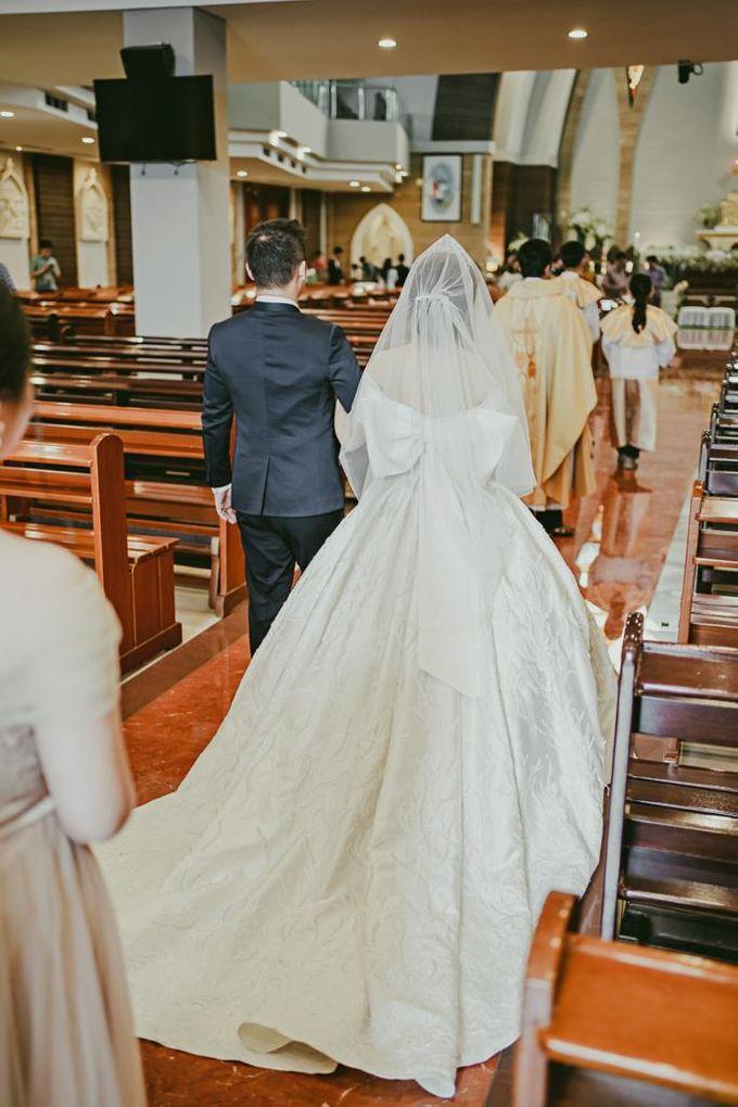 Happy wedding to Ellen & Anthony by D BRIDE - 001