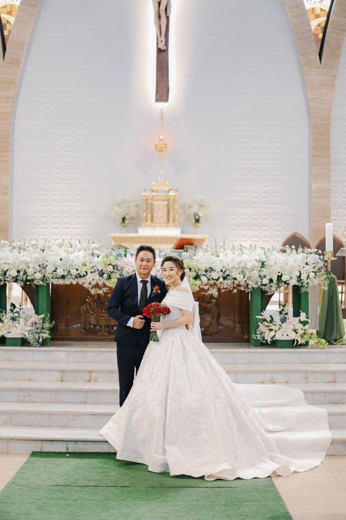 Happy wedding to Ellen & Anthony by D BRIDE - 002