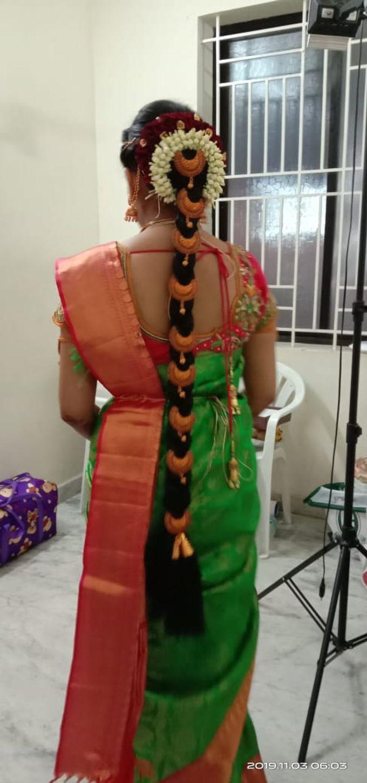 Mugurtham Look by Anjalisri Makeover - 001