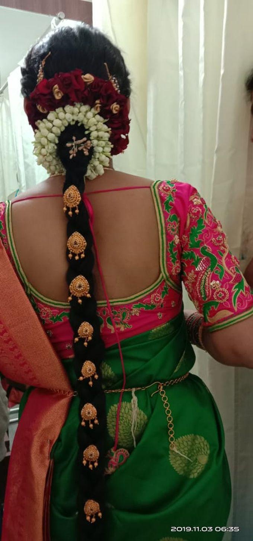 Mugurtham Look by Anjalisri Makeover - 006