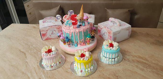 Custom Wedding Cake by Bloomscake Wedding - 024
