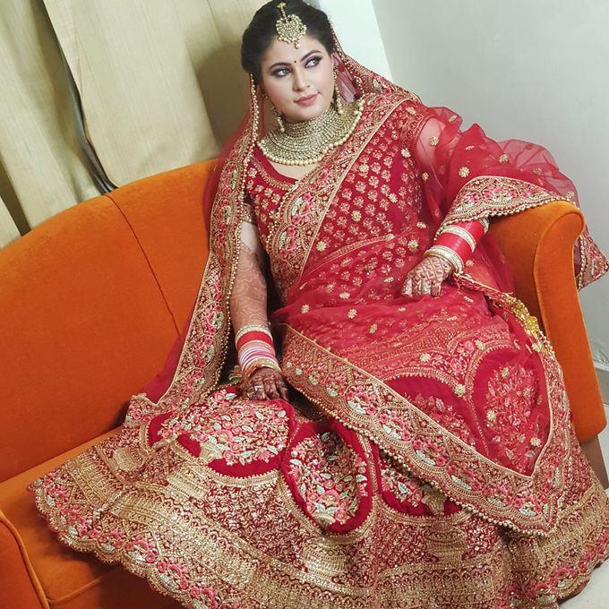 Shades Of Bridal makeups by Makeover By Garima Baranwal - 017