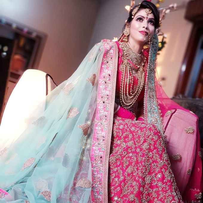 Shades Of Bridal makeups by Makeover By Garima Baranwal - 035