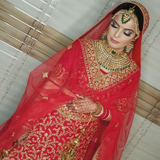 Shades Of Bridal makeups by Makeover By Garima Baranwal - 030