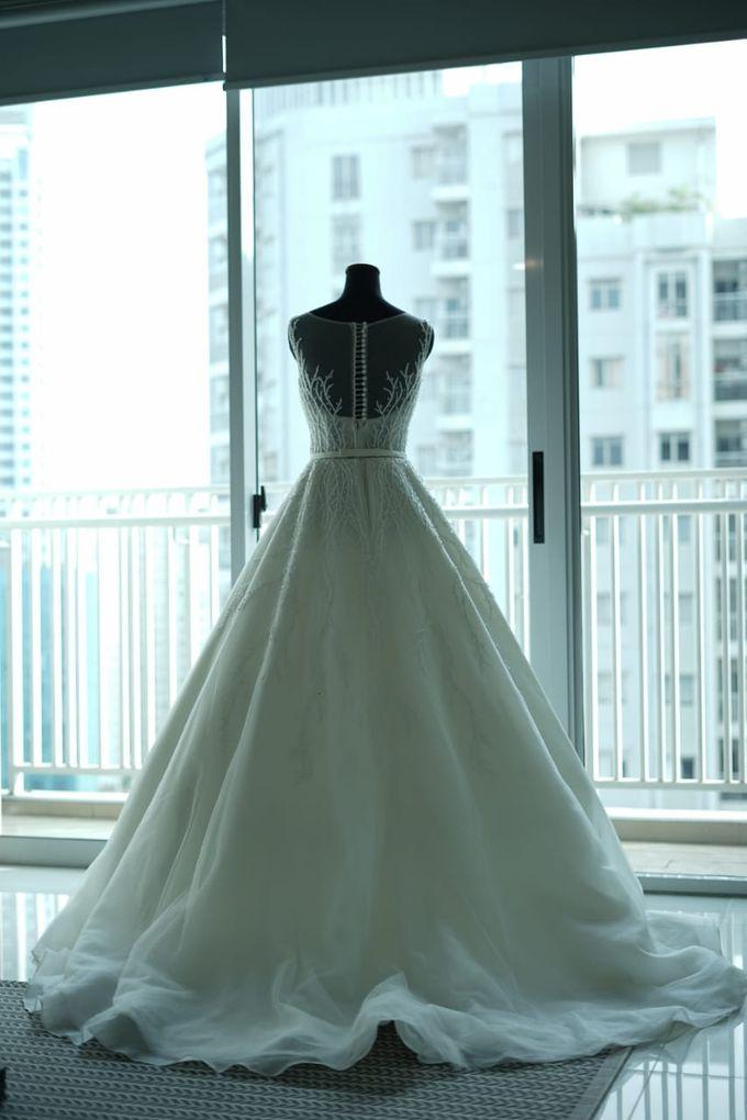 William & Melisa Wedding by Elina Wang Bridal - 005