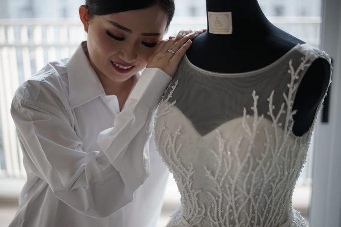 William & Melisa Wedding by Elina Wang Bridal - 004