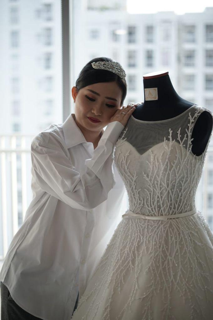 William & Melisa Wedding by Elina Wang Bridal - 001