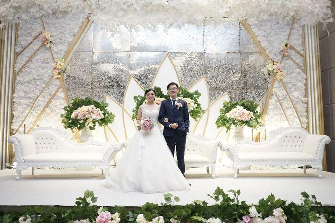 William & Melisa Wedding by Elina Wang Bridal - 002
