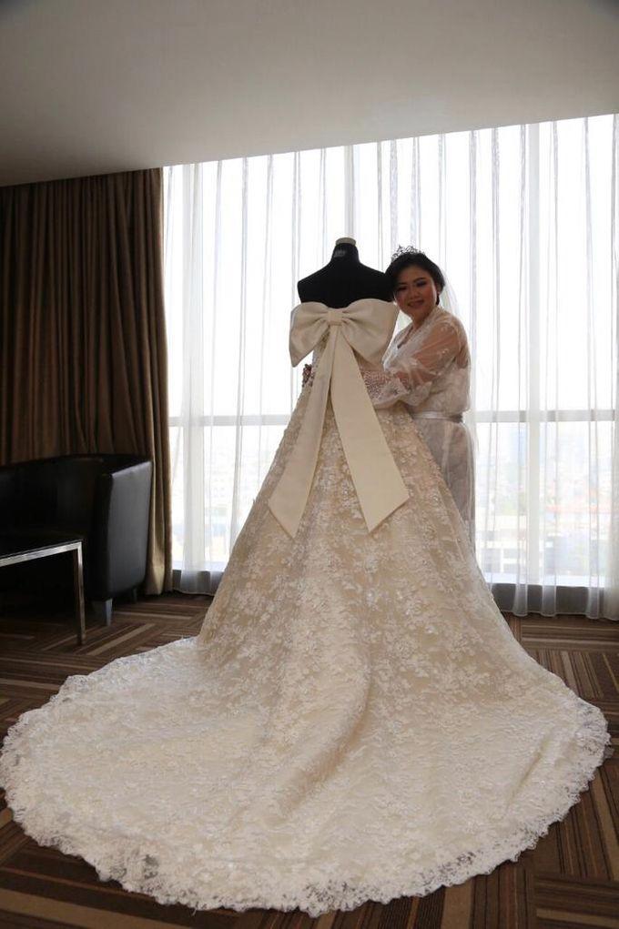 Happy wedding to Fany & IVan by D BRIDE - 004