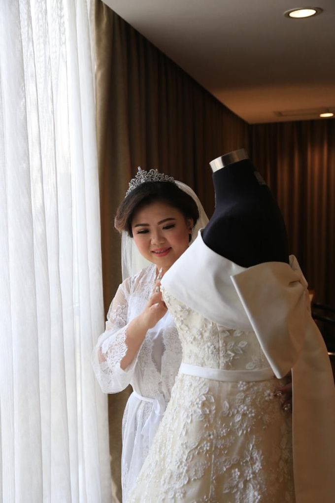 Happy wedding to Fany & IVan by D BRIDE - 007