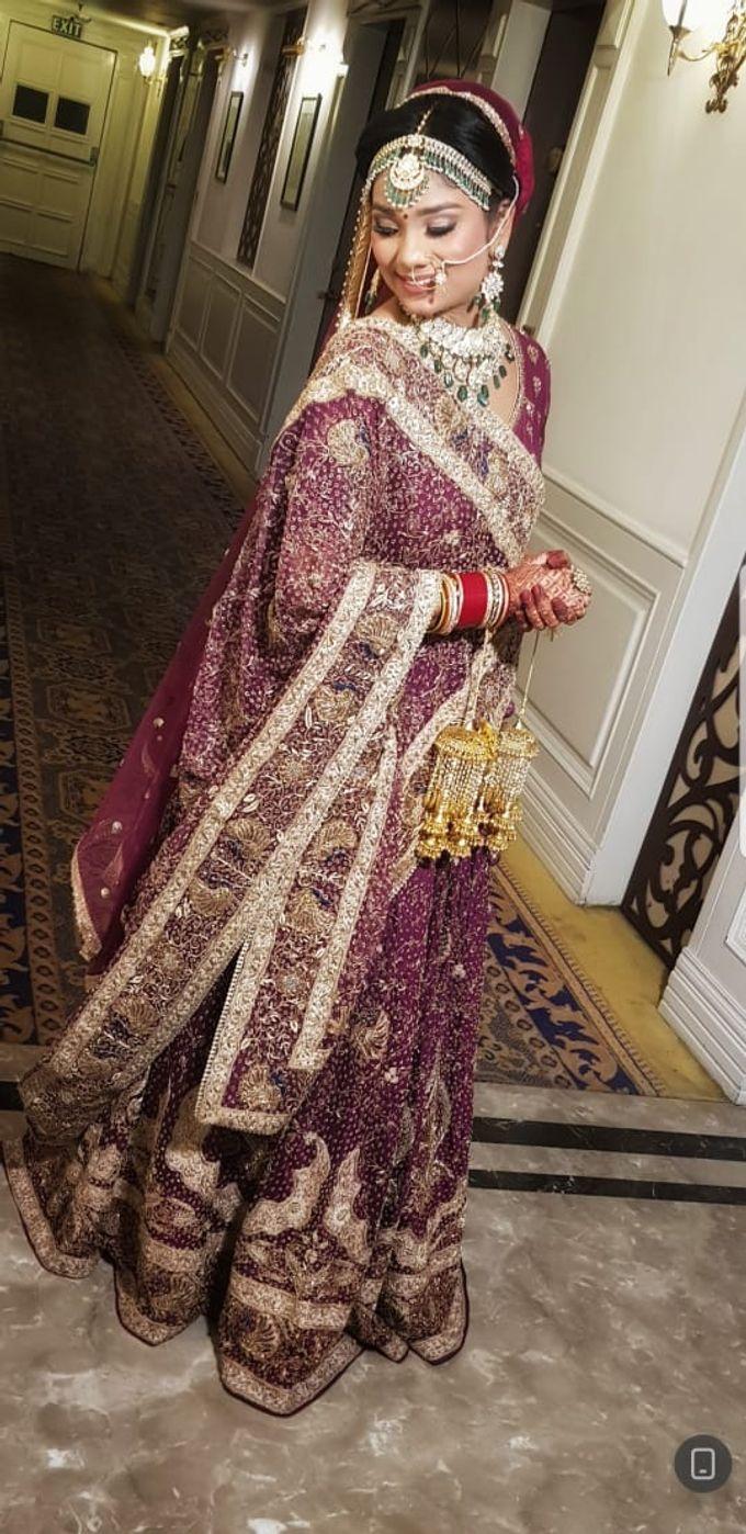 Shades Of Bridal makeups by Makeover By Garima Baranwal - 005