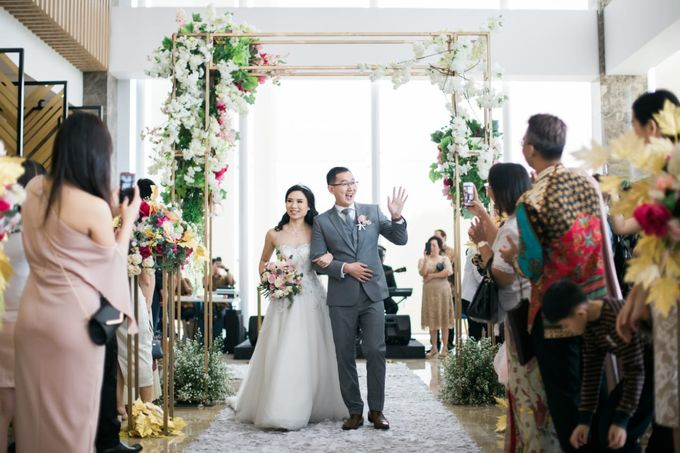 THE WEDDING OF BENNY & LESTARI by Serenity wedding organizer - 005