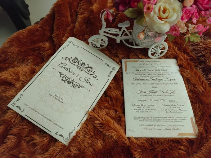 Andreas & Ilma invititation by xime wedding card - 001