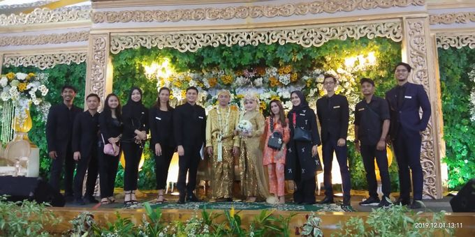 The Wedding Of Rezky & Rizal by Dirasari Catering - 023