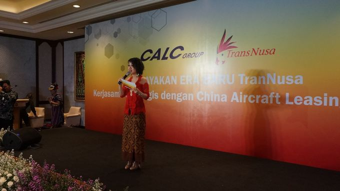 Celebration of Transnusa's New Chapter  Strategic Cooperation with CALC by MC Mandarin Linda Lin - 001