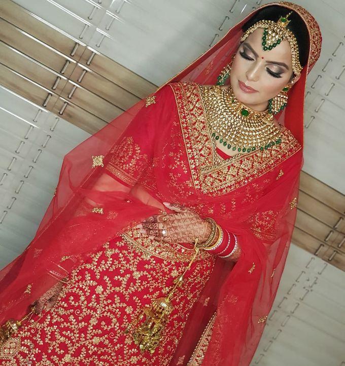 Shades Of Bridal makeups by Makeover By Garima Baranwal - 036